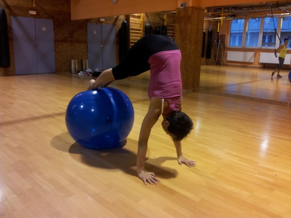 Iva - Pilates, balon